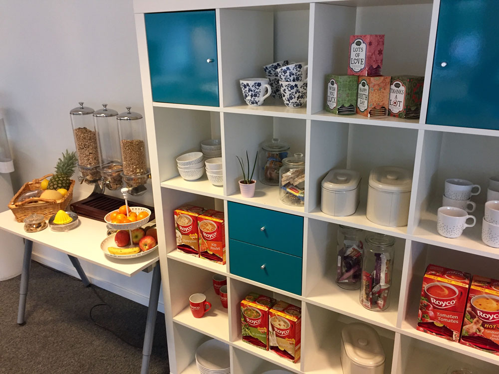 Healthy Snacks at Docbyte